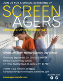 Save the Date! Harbor Country Day School Presents Screenagers!