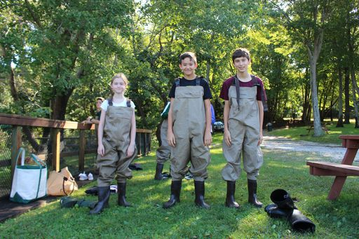 "Harbor Students Spend a ""Day in the Life of the Nissequogue River"""