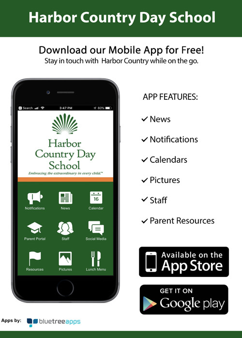 Harbor Country Day School Launches Official Mobile App
